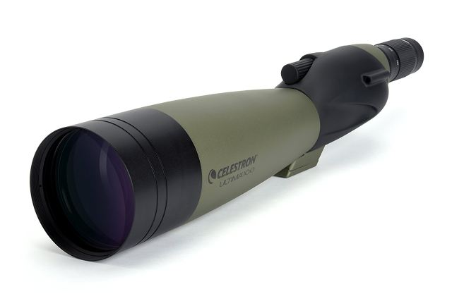 Top rifle scope